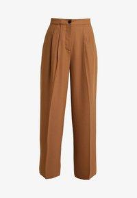Samsøe Samsøe - ZAL TROUSERS - Pantalon classique - rubber - 3