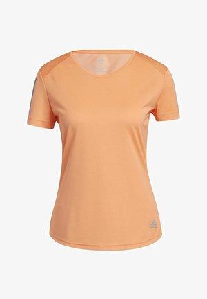 OWN THE RUN T-SHIRT - T-shirt print - orange