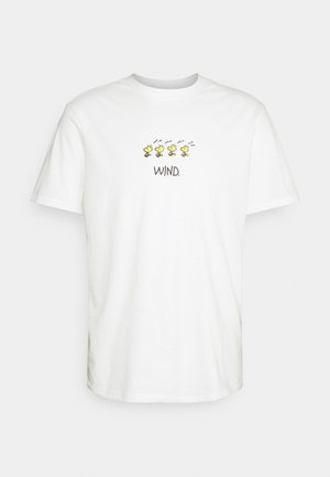 PEANUTS - T-shirt con stampa - off white