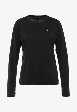 SILVER - Langærmede T-shirts - performance black