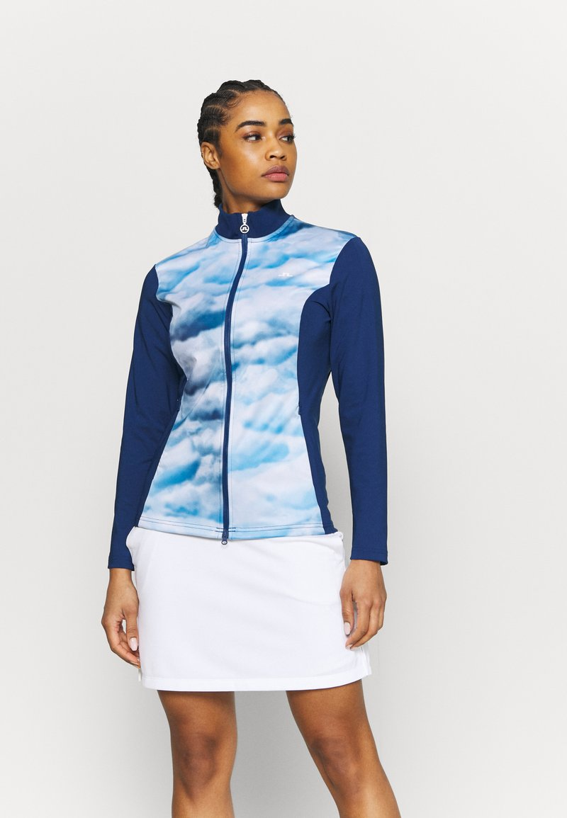 J.LINDEBERG - ANNIE GOLF MID LAYER - Giacca sportiva - midnight blue