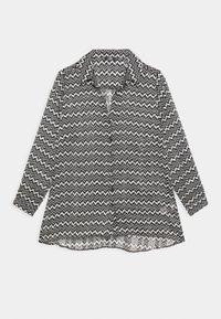 Wallis - MONO AZTEC - Button-down blouse - mono - 0