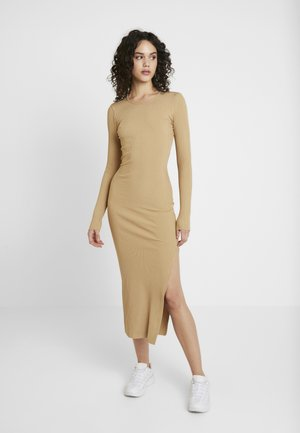 DANIKA MIDI DRESS - Day dress - pecan