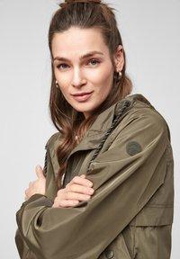 Q/S designed by - Summer jacket - olive - 3