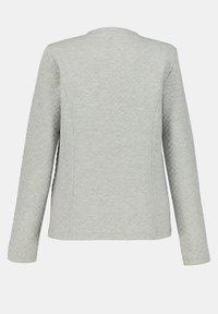 GINA LAURA - Zip-up hoodie - hellgrau-melange - 3