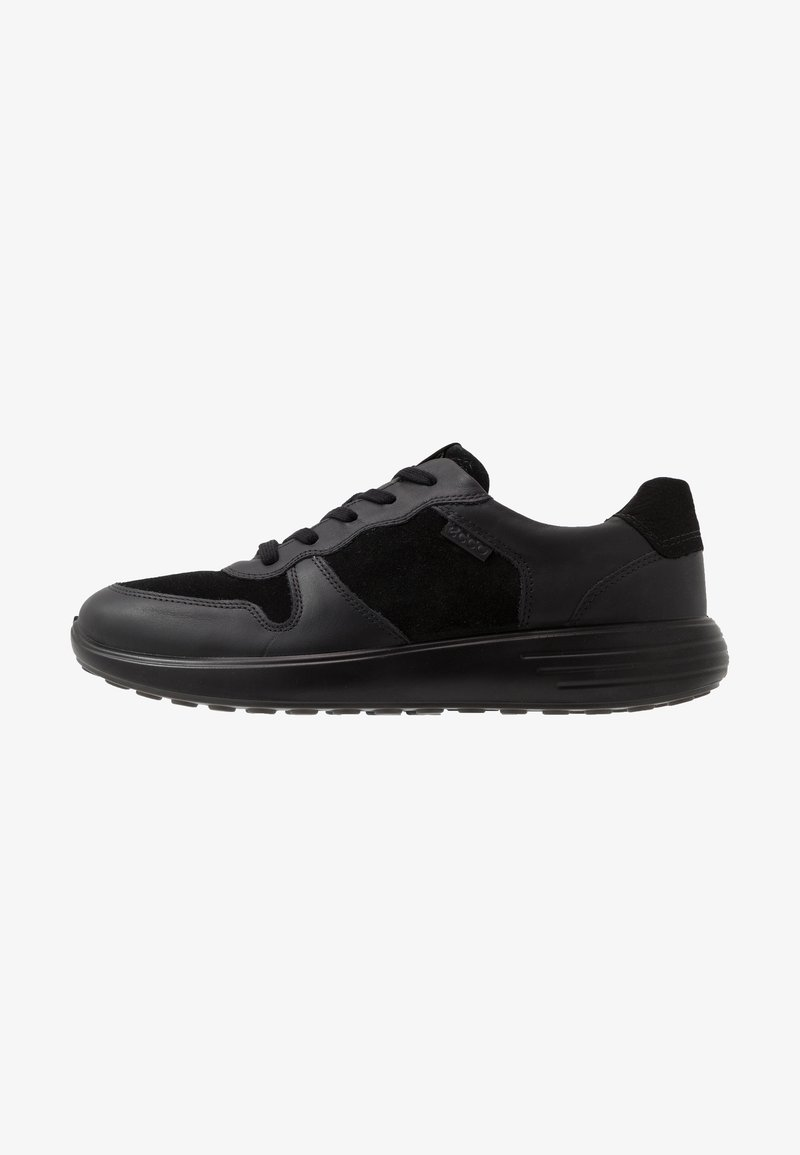ECCO - SOFT RUNNER - Sneakersy niskie - black