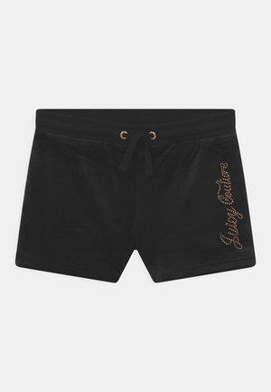 LUXE DIAMANTE - Shorts - jet black