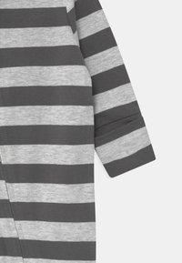 Cotton On - LONG SLEEVE ZIP - Dupačky na spaní - cloud marle/graphite grey - 2
