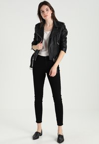 AllSaints - BALFERN BIKER - Leather jacket - black - 1