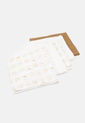 NBNNAPSILO NAPPIES 5 PACK - Muslin blanket - tannin