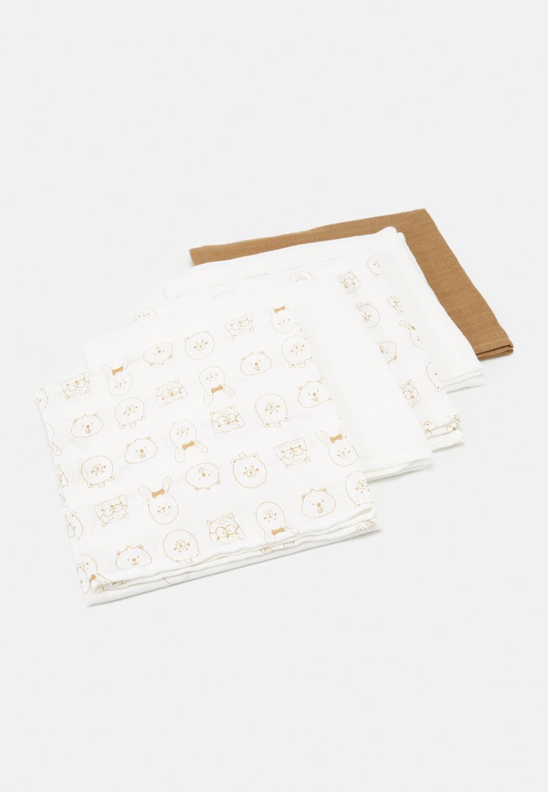 Name it - NBNNAPSILO NAPPIES 5 PACK - Hydrofiele doek - tannin