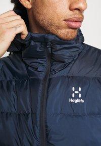 Haglöfs - BIELD HOOD MEN - Down jacket - tarn blue - 5