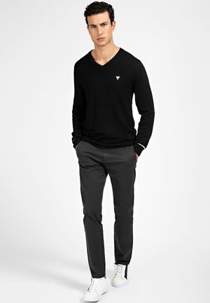 Pantaloni - mehrfarbig schwarz