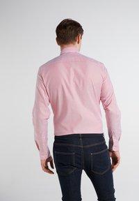 Eterna - SLIM FIT - Shirt - rot/weiss - 1