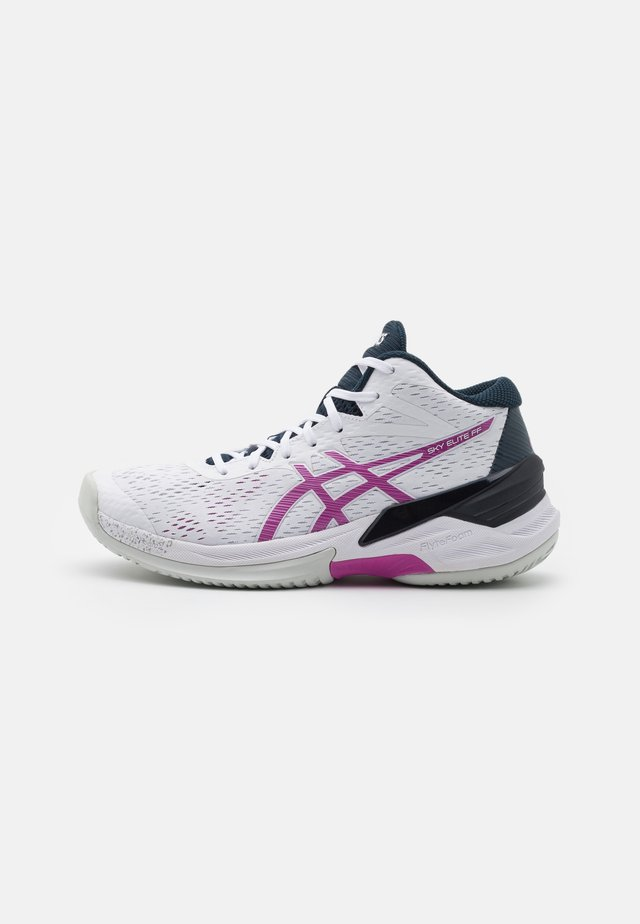 SKY ELITE FF  - Volleyball shoes - white/digital grape