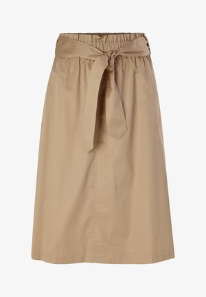 A-line skirt - warm sand