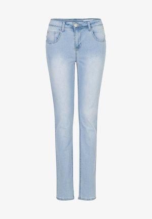 JACKIE - Straight leg jeans - bleached denim