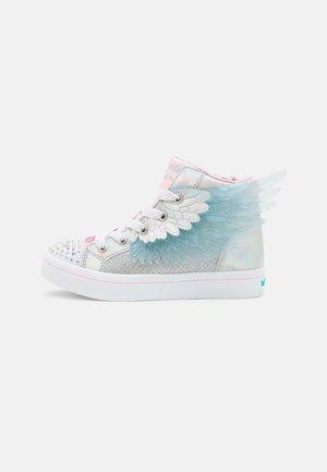 TWI-LITES 2.0 - Sneakers hoog - silver/pink & lt. blue trim