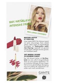 Sante - LIPS SET - Makeup set - 07 fierce red / 04 blooming scarlet - 5