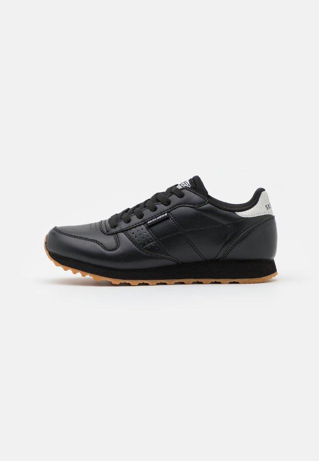 Sneakersy niskie - black/silver glitter