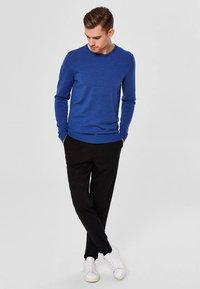 Selected Homme - Jumper - medium blue melange - 1
