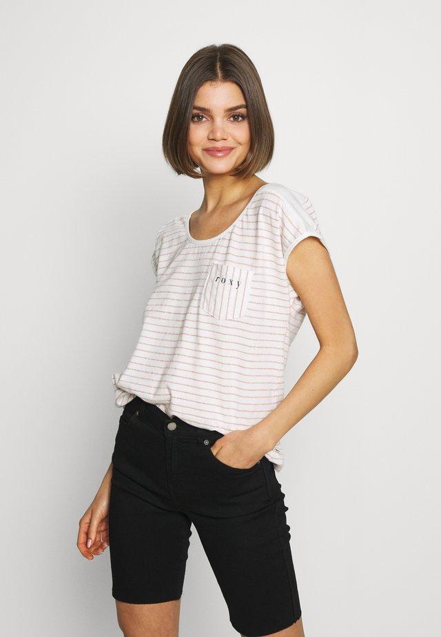 MIAMI VIBES - Print T-shirt - cafe creme
