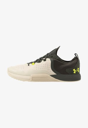 TRIBASE THRIVE 2 - Sports shoes - khaki base/baroque green/green citrine