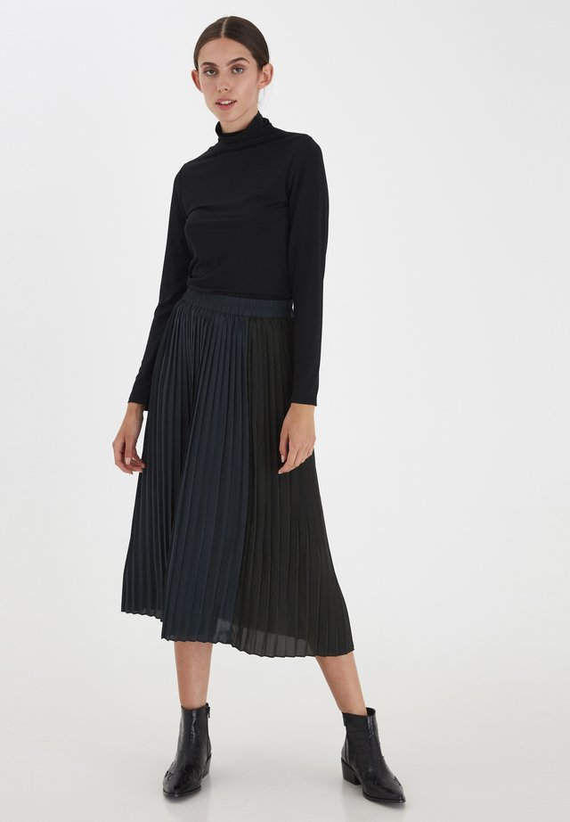 A-line skirt - total eclipse