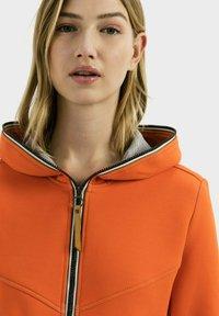 camel active - SCUBA - Zip-up hoodie - orange - 3