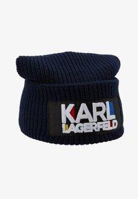 KARL LAGERFELD - KARL BAUHAUS BEANIE - Czapka - navy - 3