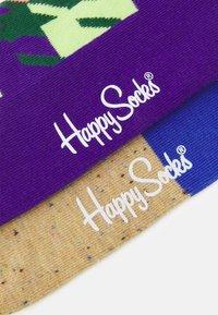 Happy Socks - DOGTOOTH BLOCKED 2 PACK UNISEX - Socks - multi - 3