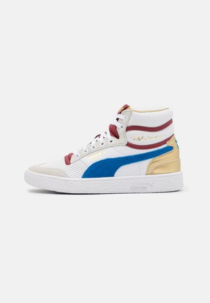 RALPH SAMPSON MID ROYAL FAM UNISEX - Sneakers high - white/lapis blue/red dahlia