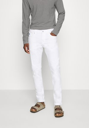 Jeansy Slim Fit - clean white