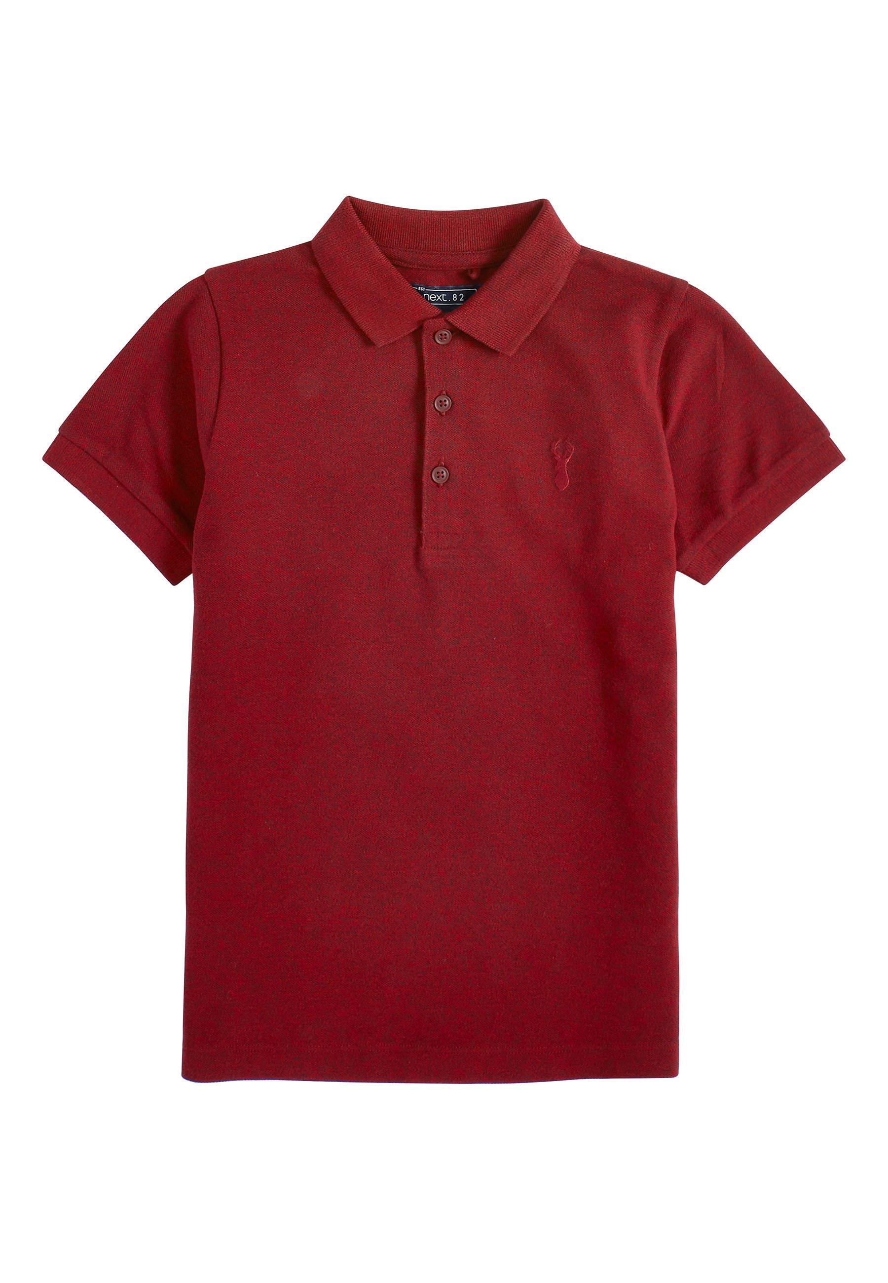 Große Förderung Next BERRY TEXTURED POLO (3-16YRS) - Poloshirt - red | Damenbekleidung 2020