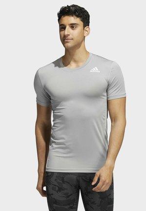 TECHFIT COMPRESSION  - Basic T-shirt - grey