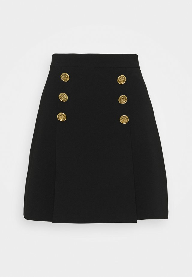WOMEN'S SKIRT - Minifalda - nero