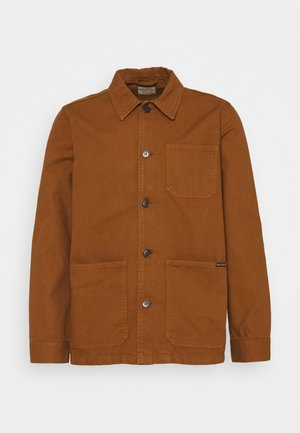 BARNEY - Summer jacket - cinnamon