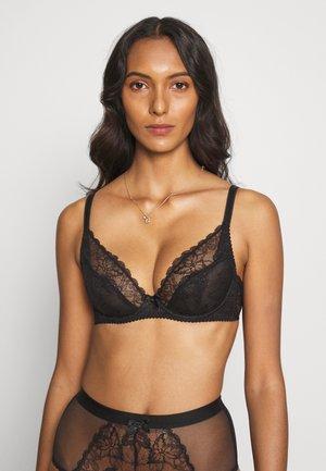 LENI BRA - Underwired bra - black