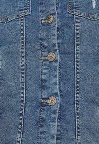 ONLY - ONLWESTA DESTROY JACKET - Denim jacket - medium blue denim - 6