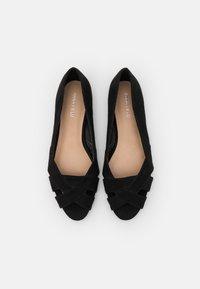 Anna Field - Peeptoe ballet pumps - black - 5