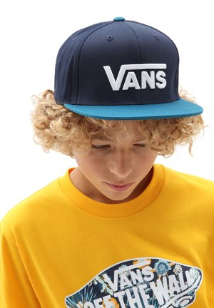 BY DROP V II SNAPBACK BOYS - Pet - dress blues/moroccan blue
