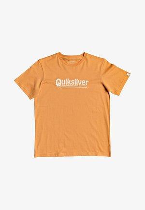 Print T-shirt - apricot buff