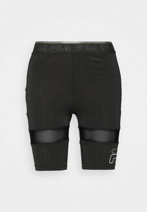 ALKE SHORT - Legging - black