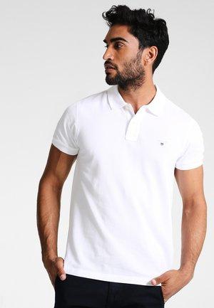 ORIGINAL SLIM RUGGER - Polo - white