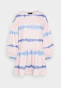 NEW girl ORDER - TIE DYE STRIPE DRESS - Sukienka letnia - pink - 4