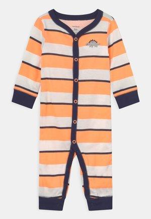 Pyjamas - orange/dark blue