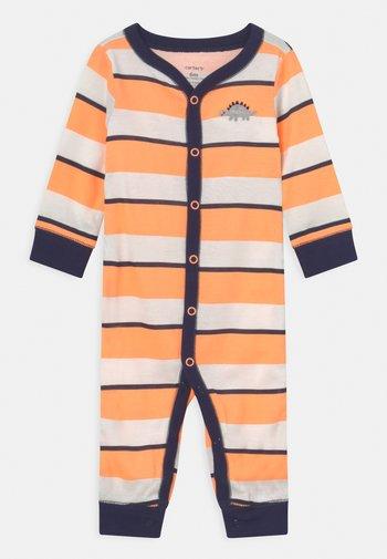 Pyžamo - orange/dark blue