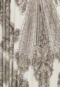 Herrlicher - ANIA PRINTED - Plisovaná sukně - offwhite - 2