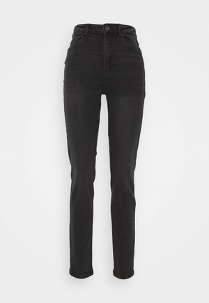 VMJOANA MOM  - Jeans baggy - black