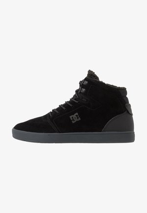 CRISIS HIGH WNT - Korkeavartiset tennarit - black/grey